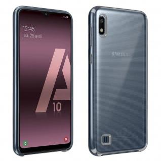 Halbsteife durchsichtige Silikon Handyhülle Samsung Galaxy A10 - Transparent