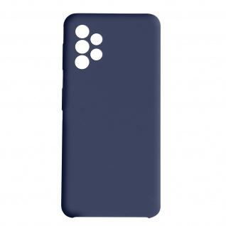 Venus Series halbsteife Soft-Touch Silikonhülle für Samsung A72 ? Dunkelblau