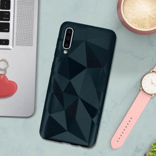 Holographische Handyhülle für Samsung Galaxy A50, Prism Design, Mocca - Blau - Vorschau 3