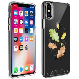 Handyhülle für iPhone X / XS, Made in France ? Herbstlaub Design