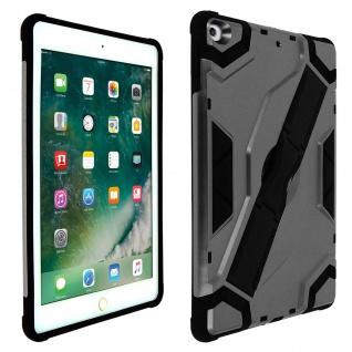Stoßfeste Schutzhülle mit Ständer für iPad 9.7 2017/iPad 5/iPad 2018 ? Schwarz