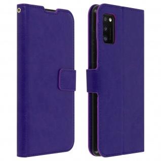 Flip Stand Case Brieftasche & Standfunktion für Samsung Galaxy A41 - Violett
