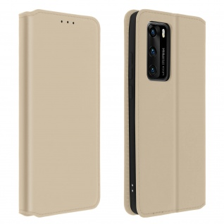 Kunstleder Cover Classic Edition Huawei P40 - Gold