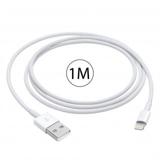 Ladekabel iPhone/iPad/ USB ? Kabellänge: 1m ? Weiß - Vorschau 5