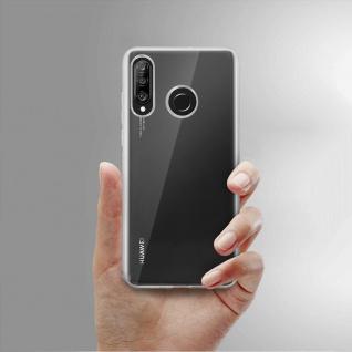 360° Protection Pack für Huawei P30 Lite: Cover+ Displayschutzfolie, Transparent - Vorschau 4