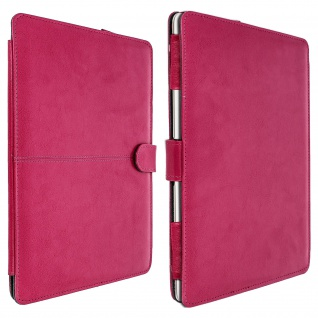 Vintage Series Kunstlederetui für MacBook Air 13, 3'' 2018 - Rosa