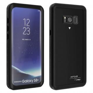 Wasserdichte IP68 Schutzhülle 2m, 4Smarts Hülle für Galaxy S8 Plus - Transparent