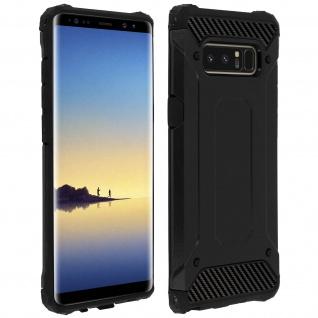 Schockresistente Schutzhülle (1, 80M) für Samsung Galaxy Note 8 ? Schwarz