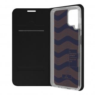 Klappetui mit Kartenfach & Standfunktion Samsung Galaxy A22 ? Schwarz