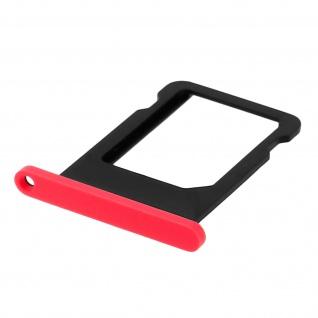 Nano-Sim-Ersatz-Kartenhalter für Apple iPhone 5C - Rose - Vorschau 3