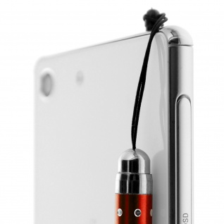 Ausziehbarer Eingabestift für Touchscreen 3.5 Klinkenstecker - Rot - Vorschau 4