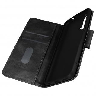 OnePlus Nord CE 5G Vintage Klappetui mit Geldbörse und Standfunktion ? Schwarz