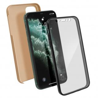 Schutzhülle für Apple iPhone 11 Pro, Vorder- + Rückseite ? Gold