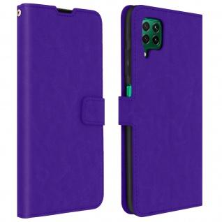 Flip Stand Case Brieftasche & Standfunktion für Huawei P40 Lite - Violett