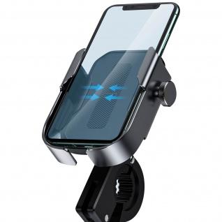 Baseus Smartphone Fahrrad/Motorrad Halterung für Lenkrad/Rückspiegel - Schwarz
