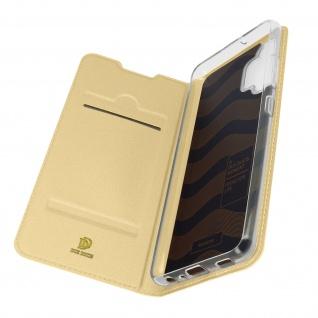 Klappetui mit Kartenfach & Standfunktion Samsung Galaxy A32 ? Gold