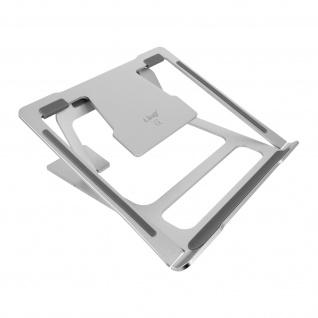 LinQ J3233 6 Winkel verstellbarer Laptop / Macbook / Tablet-Ständer â€? Silber