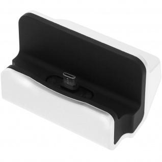 Dockingsstation / Tischhalterung â€? Alle Micro-USB Geräte â€? Schwarz / Weiß
