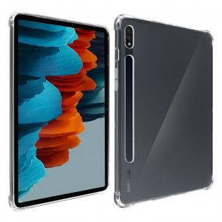 Flexible Samsung Galaxy Tab S7 11.0 Silikon Bumper Hülle, stoßfest â€? Transparent
