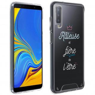 """Handyhülle für Samsung Galaxy A7 2018, Made in France ? """" Râleuse"""" Design"""