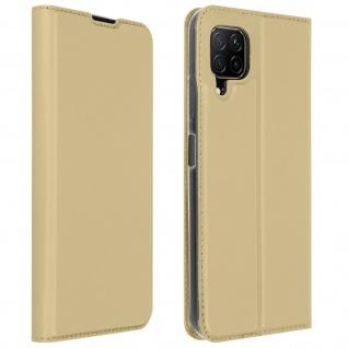 Klappetui mit Kartenfach & Standfunktion Huawei P40 Lite - Gold