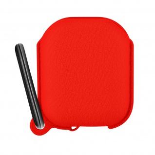 Apple AirPods (1. und 2. Generation) Silikonhülle, Ladecase Schutzhülle ? Rot