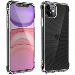 360° Schutz-Set für Apple iPhone 11 : Hülle + Displayschutzfolie ? Transparent
