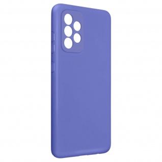 Halbsteife Silikon Handyhülle für Galaxy A52 / A52 5G, Soft Touch ? Violett