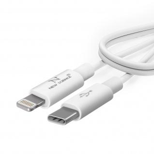 Lightning / USB-C Power Delivery 20W, Schnelllade- / ßbertragungskabel 1m - Weiß