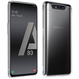 360° Protection Pack für Samsung Galaxy A80: Cover+ Displayschutzfolie
