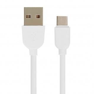 USB typ-C / USB-Ladekabel - Aufladen & Synchronisation 1 m - Weiß