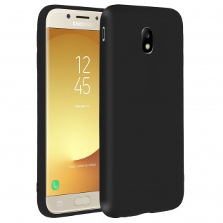 Forcell Samsung Galaxy J5 2017 Soft Touch Silikonhülle, soft case - Schwarz