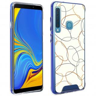 Handyhülle für Galaxy A9 2018, Made in France ? Gekritzel Design