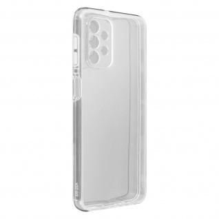 Schutzhülle für Samsung Galaxy A32 5G, Vorder- + Rückseite ? Transparent