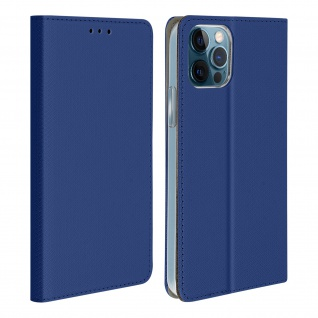 Apple iPhone 12 / 12 Pro Flip Cover mit Standfunktion � Blau