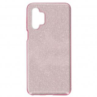 Schutzhülle, Glitter Case für Samsung Galaxy A32 â€? Rosa
