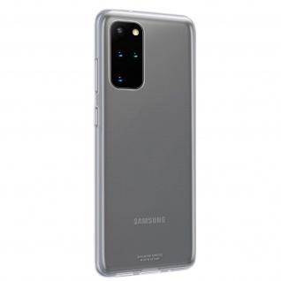 Original Samsung Clear Cover, Silikonhülle für Galaxy S20 Plus - Transparent