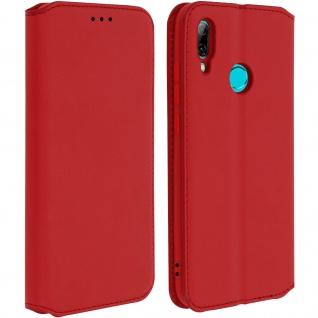 Kunstleder Cover Classic Edition Huawei P Smart 2019, Honor 10 Lite - Rot