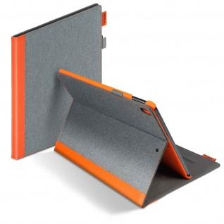 Easy-Click Klapphülle by Gecko Covers für iPad Pro 10.5/Air 2019 - Grau / Orange