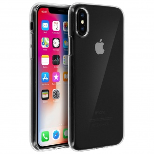 Ultradünne Schutzhülle aus Silikon für Apple iPhone X (0.3mm) ? Transparent