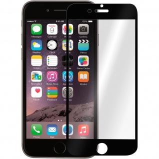 Displayschutzfolie aus Hartglas für Apple iPhone 6/ iPhone 6S ? Rand Schwarz