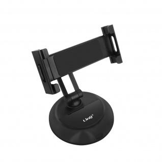 Desktop Tablet Smartphone Ständer Multi-Winkel Basis LinQ HD3270 ? Schwarz