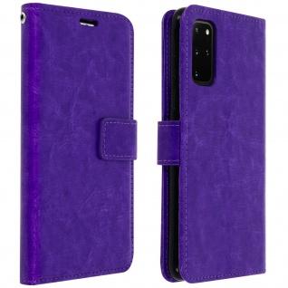 Flip Cover Stand Case Brieftasche & Standfunktion Galaxy S20 Plus ? Violett