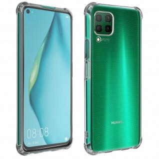 Premium Schutz-Set Huawei P40 Lite Schutzhülle + Schutzfolie - Transparent