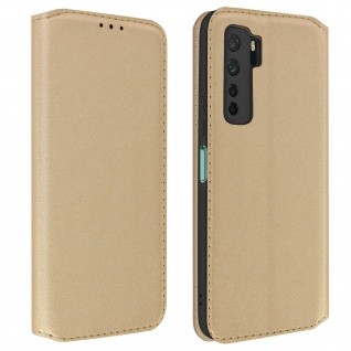 Kunstleder Cover Classic Edition Huawei P40 Lite 5G - Gold