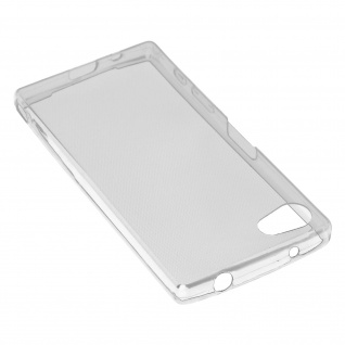 Sony Xperia Z5 Compact Schutz-Set - transparente Hülle + Glas-Displayschutzfolie