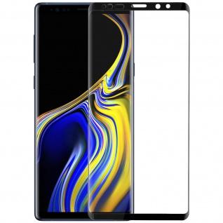 9H kratzfeste Glas-Displayschutzfolie für Samsung Galaxy Note 9 - Schwarz