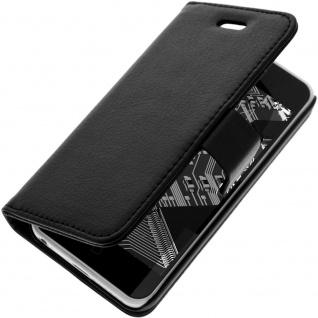 Flip-Schutzhülle mit Standfunktion für Apple iPhone 5C - Schwarz