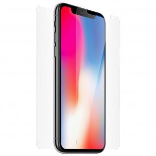 Display- Rückseite Schutzfolie aus Glas für Apple iPhone X - BigBen
