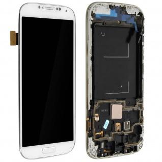 LCD Komplettset mit Touchscreen Ersatzteil für Samsung Galaxy S4 - Weiß